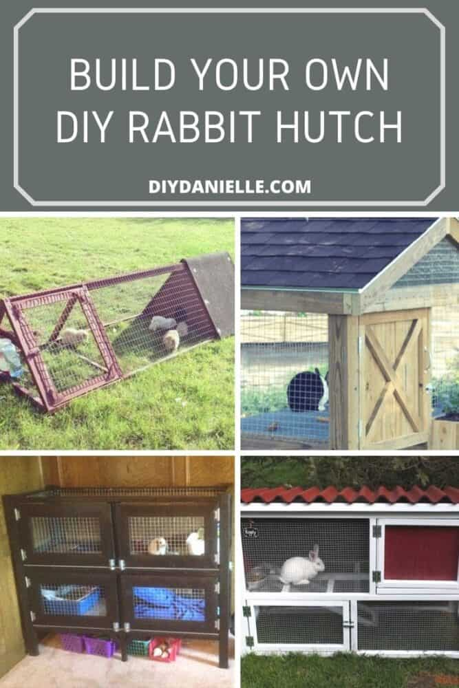 rabbit hutches to diy