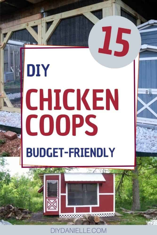 15 diy chicken coops