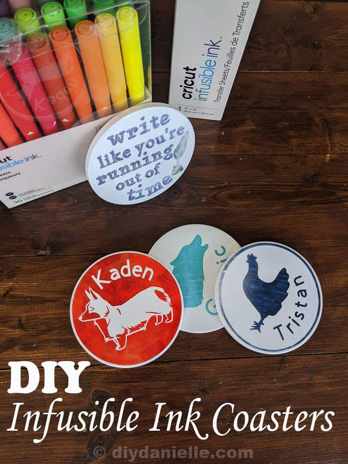 How to Make Coasters with Cricut Infusible Ink