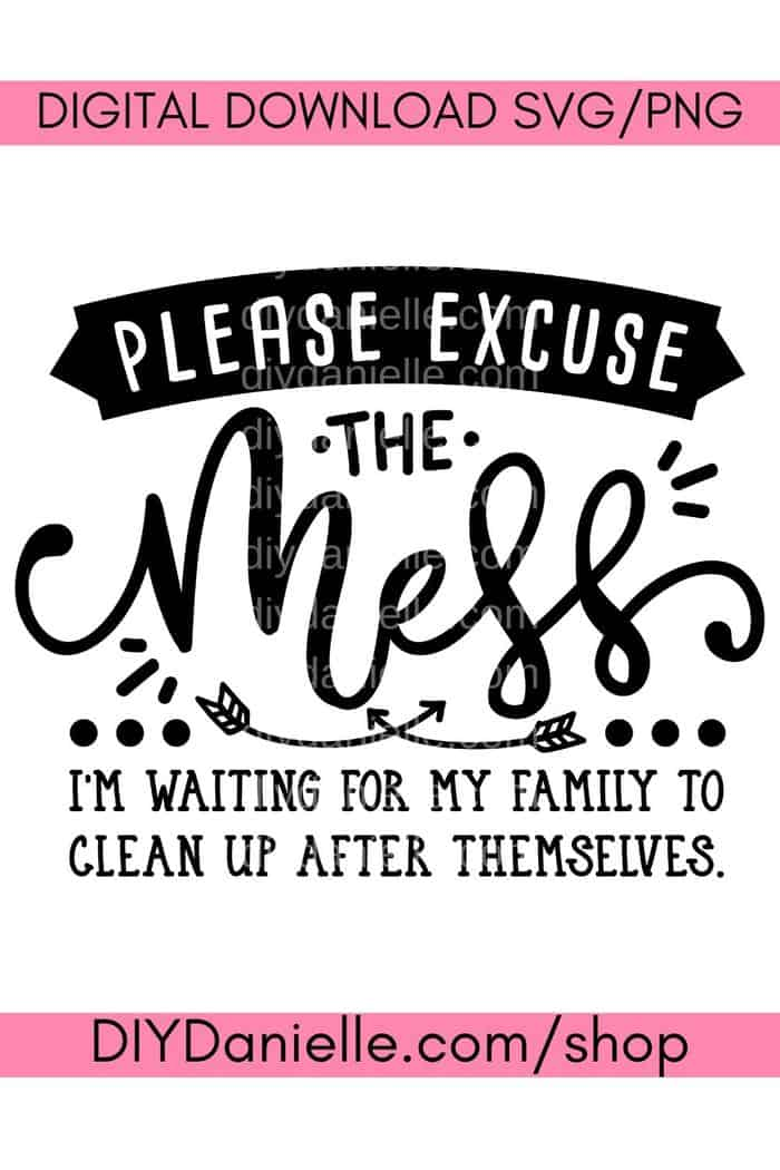 PleaseExcuseMess