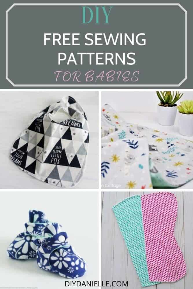 free DIY sewing patterns for babies
