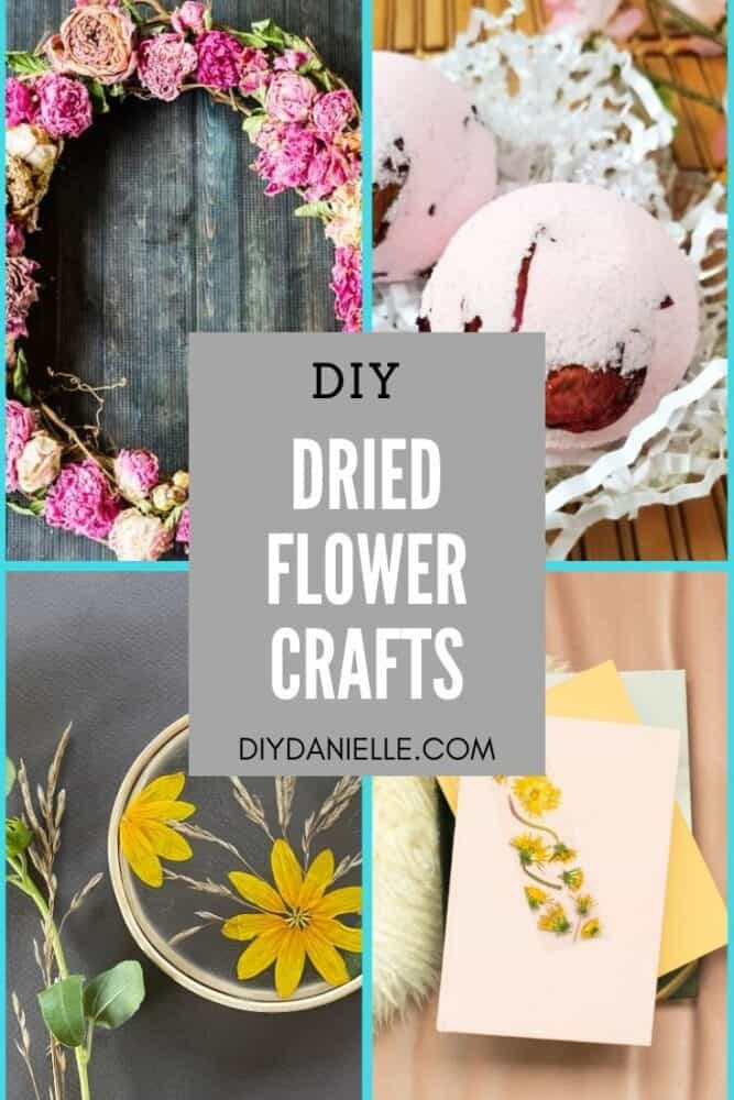 diy dried flower crafts