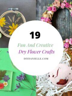 dry flower crafts