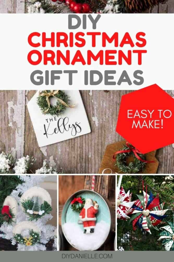 diy Christmas ornament gift ideas
