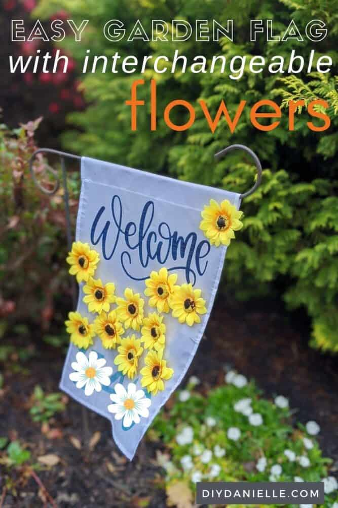 How to make garden flags using Infusible Ink by Cricut. These were a super easy sublimation project!