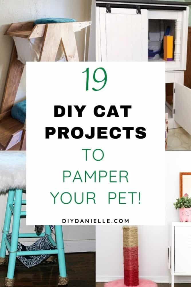 Cat projects that you can sew, build, and DIY.