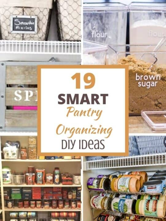 19 diy pantry organizing ideas