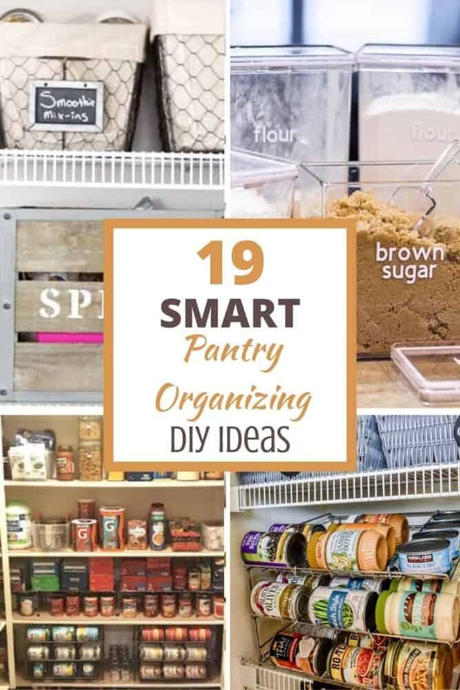 diy pantry organizing ideas