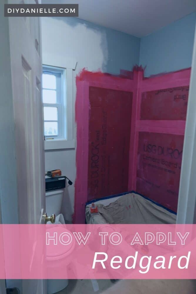 How to apply Redgard. This product helps waterproof cement board and is perfect for shower walls or bathtub walls.