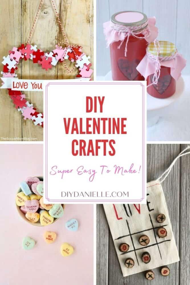 Easy Peasy Valentine Crafts To DIY
