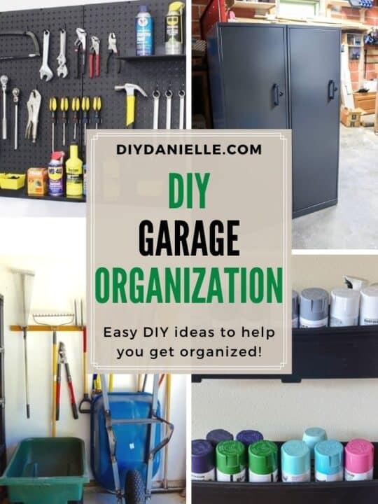 diy garage organizing projects
