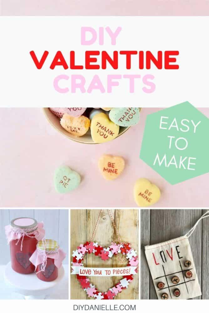 DIY Super Easy DIY Valentine Crafts