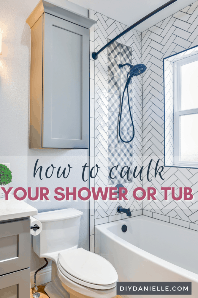 How to Caulk a Shower or Bathtub: Learn how to caulk or recaulk your shower.