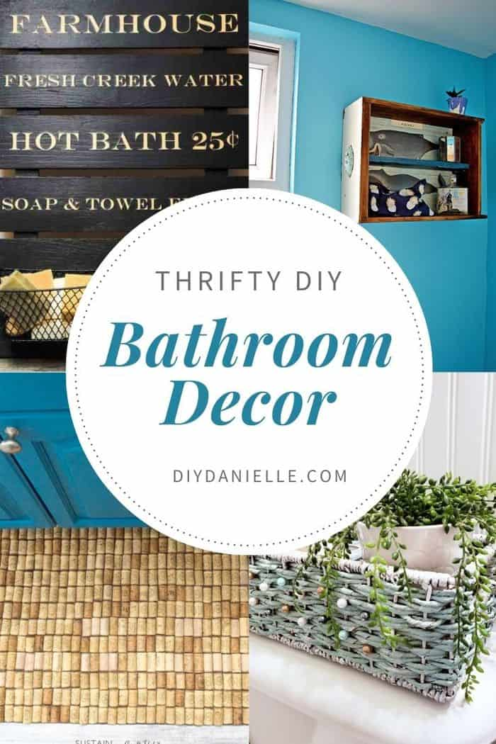 20 Handmade Diy Bathroom Decor Ideas