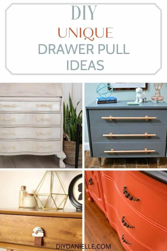 unique drawer pulls pin collage