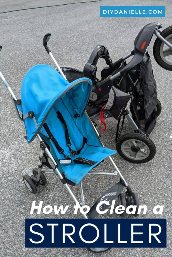 How to clean a stroller: Tips for deep cleaning your stroller and sanitizing it.