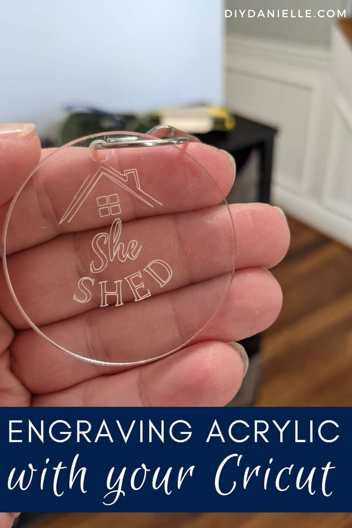 How to Engrave Acrylic with the Cricut Maker