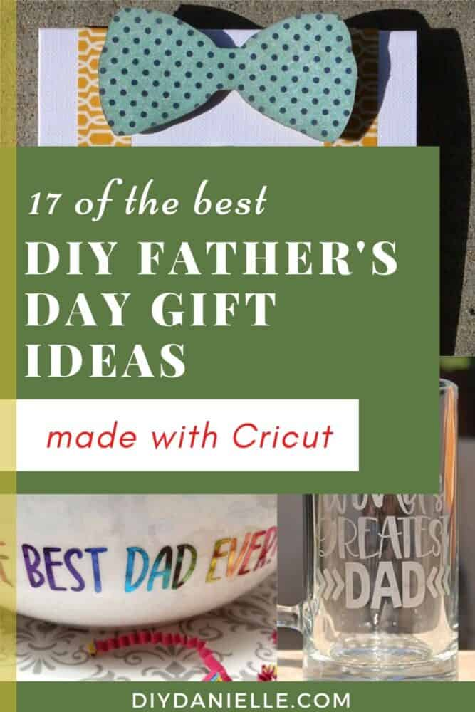 diy fathers day gifts pin image with text overlay