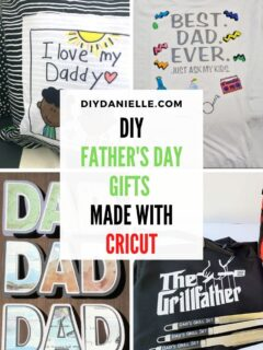 diy cricut fathers day gifts