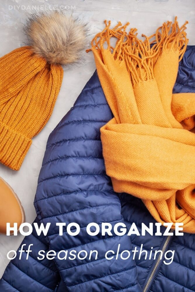 How to organize seasonal clothing. Tips for organizing winter and summer clothes for your whole family.