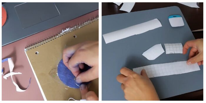 weeding vinyl and using transfer tape