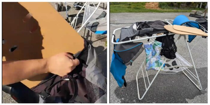 putting stroller back together after cleaning and drying stroller