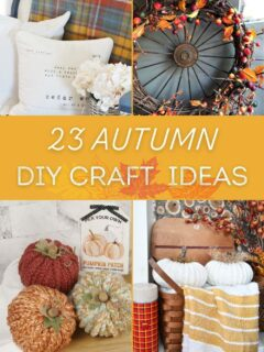 23 Easy To Make DIY Crafts for Autumn