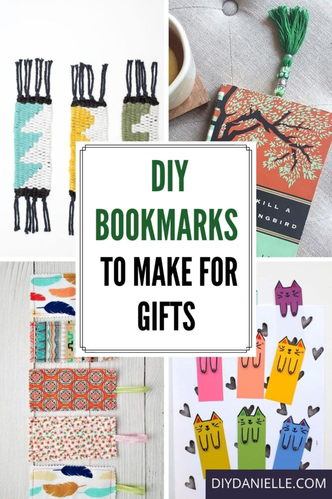 diy bookmarks pin with text overlay